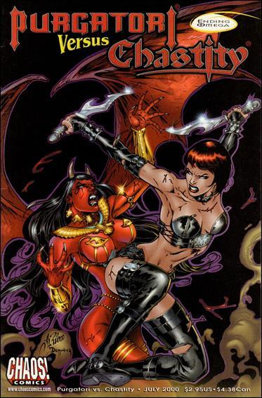 Purgatori Versus Chastity 1-B by Chaos! Comics