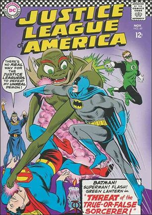 Justice League of America (1960) 49-A
