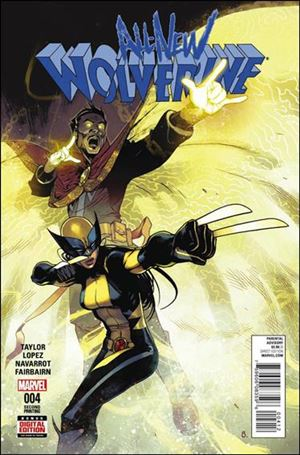 All-New Wolverine  4-D