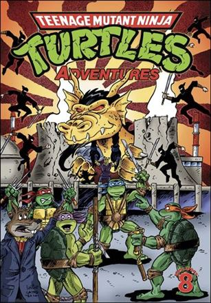 Teenage Mutant Ninja Turtles Adventures (2012)  8-A