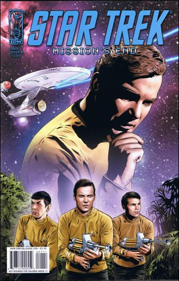 Star Trek: Mission's End 1-A by IDW