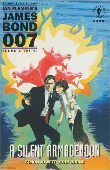 James Bond 007: A Silent Armageddon 1-A by Dark Horse
