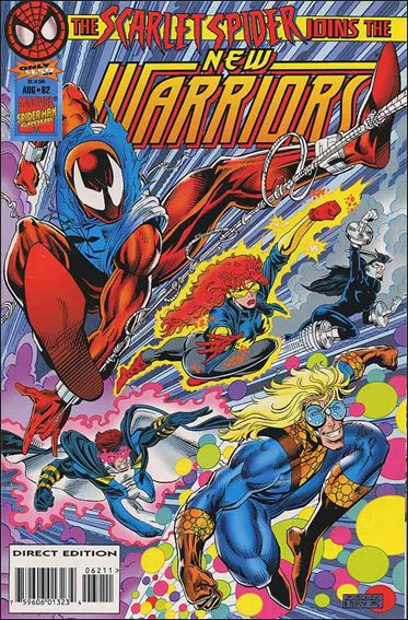 New Warriors (1990) 62-A by Marvel