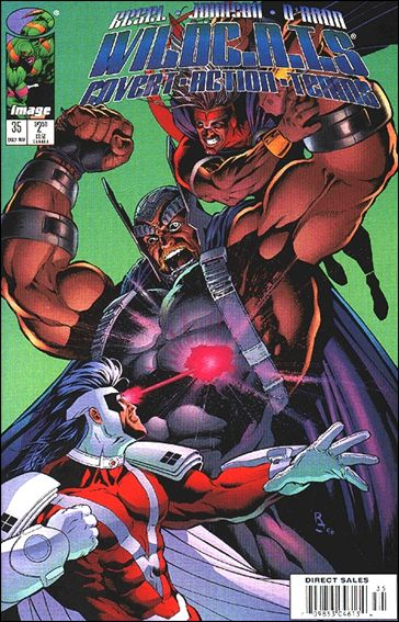 WildC.A.T.s: Covert Action Teams 35-A by Image