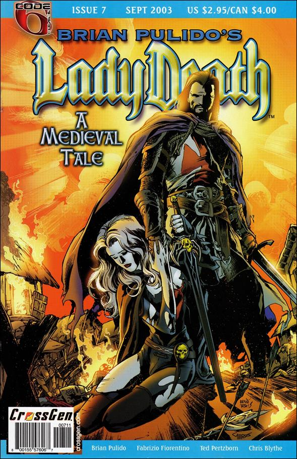 Brian Pulido's Lady Death: A Medieval Tale 7-A by CrossGen