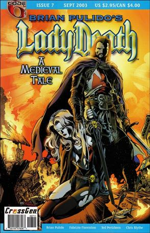 Brian Pulido's Lady Death: A Medieval Tale 7-A