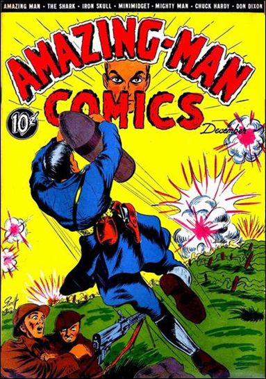 Amazing Man Comics 8-A by Centaur Publications Inc.
