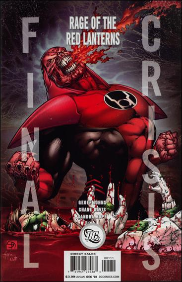 Final Crisis: Rage of the Red Lanterns 1-B by DC