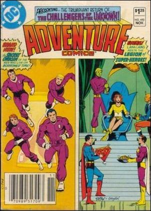 Adventure Comics (1938) 493-A by DC