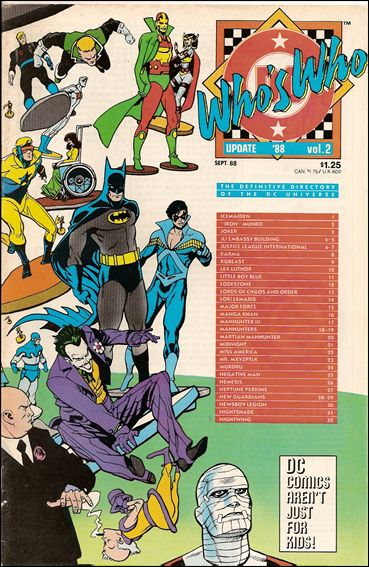 Who's Who Update '88 2-A by DC