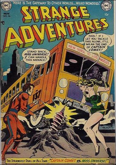 Strange Adventures (1950) 26-A by DC