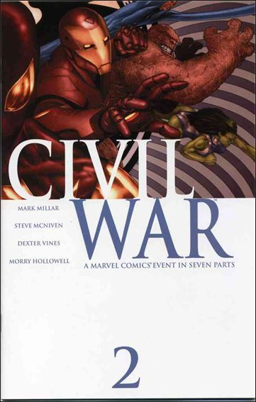 Civil War (2006) 2-A by Marvel