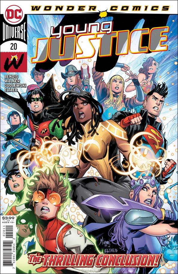 Young Justice (2019) 20-A by Wonder Comics