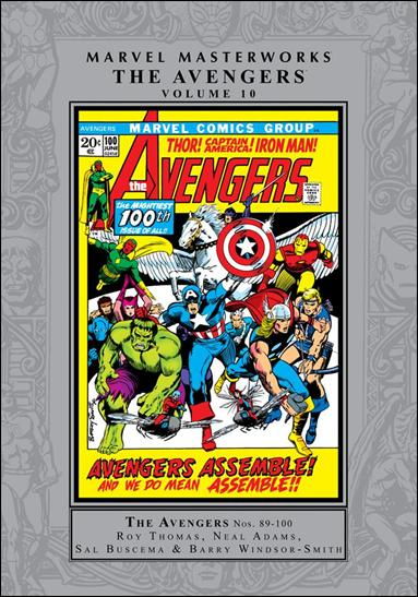 Marvel Masterworks: The Avengers 10-A by Marvel