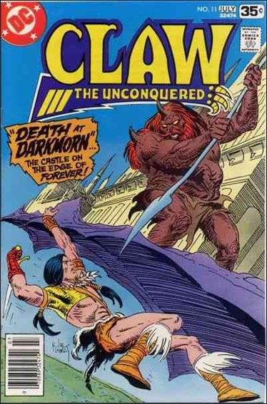 Claw the Unconquered (1975) 11-A by DC