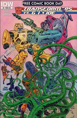 Transformers vs G.I. Joe 0-A