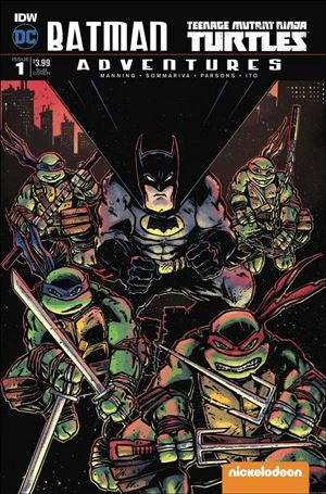 Batman/Teenage Mutant Ninja Turtles Adventures 1-B