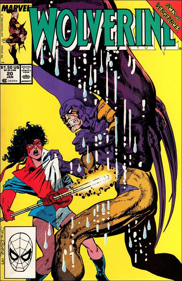 Wolverine (1988)  20-A by Marvel