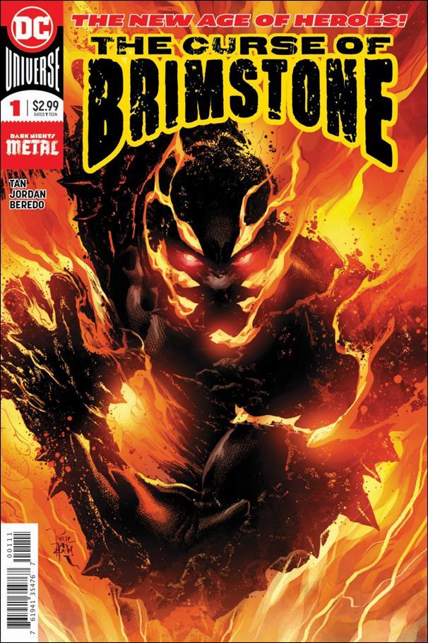 Curse of Brimstone 1-A by DC