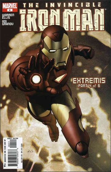 Invincible Iron Man (2005) 4-A by Marvel