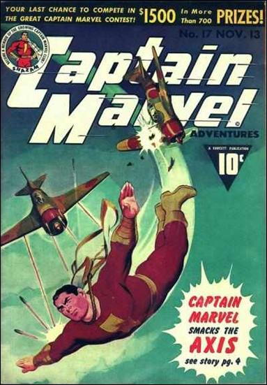 Captain Marvel Adventures 17-A by Fawcett
