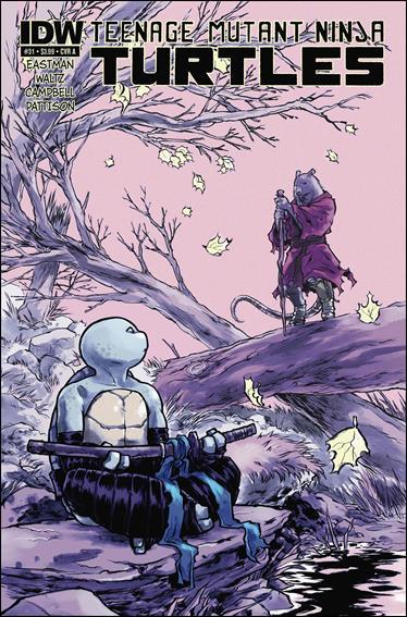 Teenage Mutant Ninja Turtles (2011) 31-A by IDW