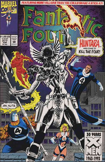 Fantastic Four (1961) 377-A by Marvel