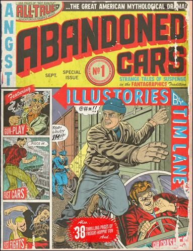 Abandoned Cars 1-A by Fantagraphics
