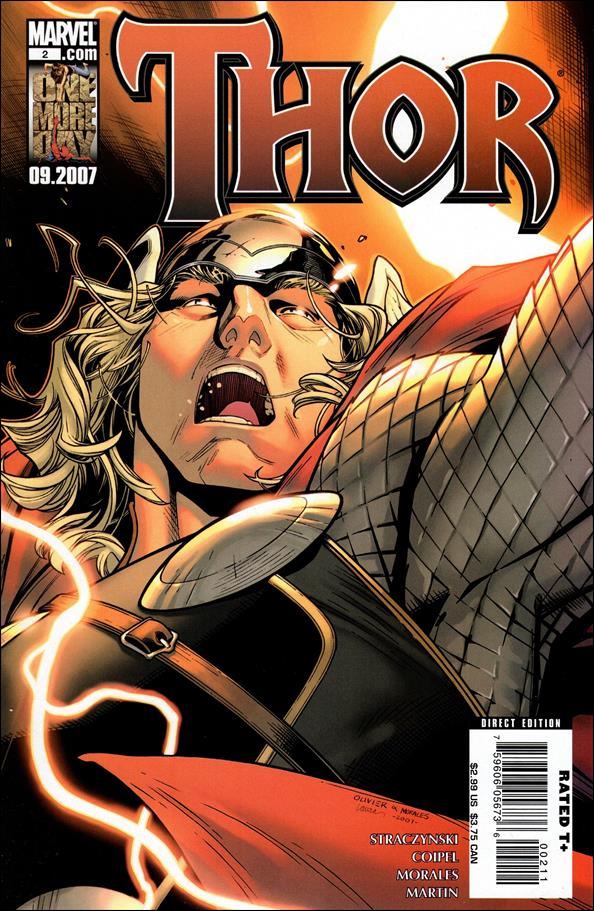 Thor (2007) 2-A by Marvel
