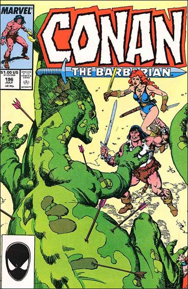 Conan the Barbarian (1970) 196-A by Marvel
