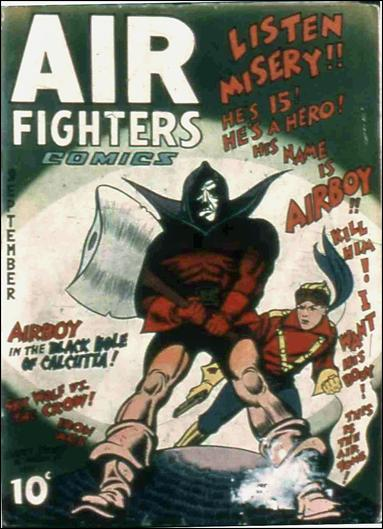 Air Fighters Comics (1941) 12-A by Hillman
