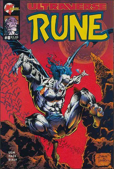 Rune (1994) 8-A by Malibu