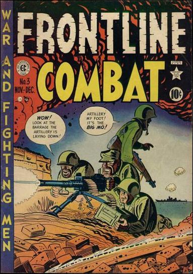 Frontline Combat (1951) 3-A by E.C.