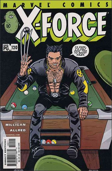 X-Force (1991) 120-A by Marvel