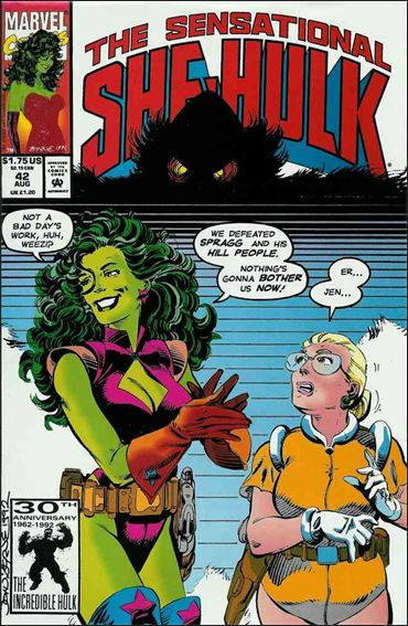 Sensational She-Hulk 42-A by Marvel