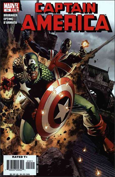 Captain America (2005) 19-A by Marvel