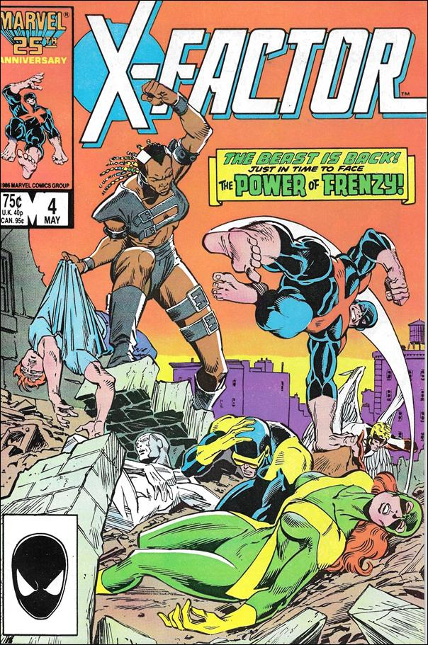 X-Factor (1986) 4-A by Marvel