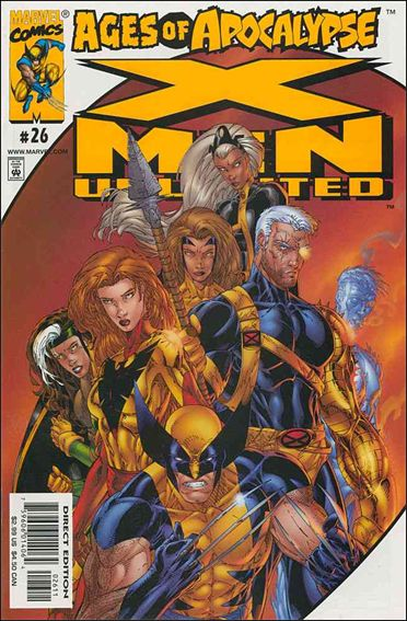 X-Men Unlimited (1993) 26-A by Marvel
