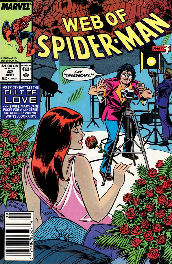 Web of Spider-Man (1985) 42-A by Marvel