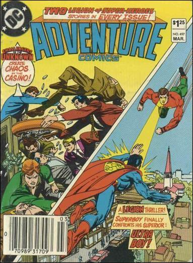 Adventure Comics (1938) 497-A by DC