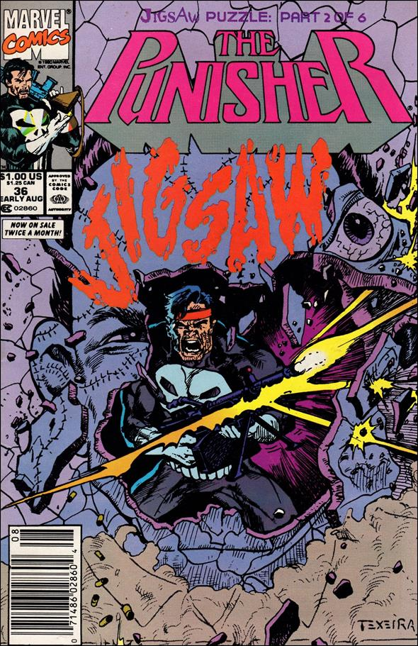 Punisher (1987) 36-A by Marvel