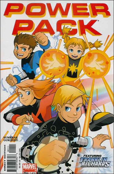 Power Pack (2005) 1-A by Marvel