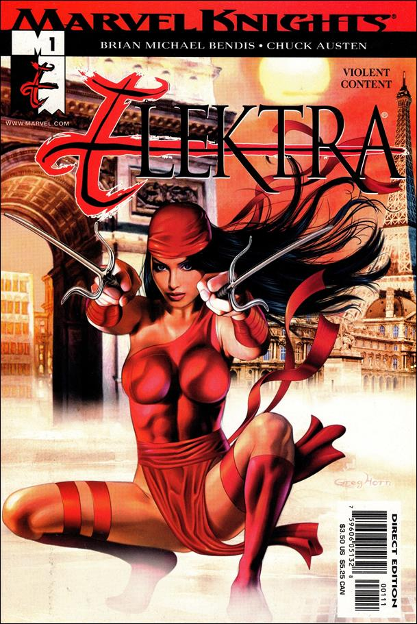Elektra (2001) 1-A by Marvel