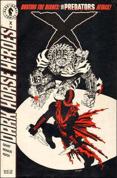 X (1994) 18-A by Dark Horse