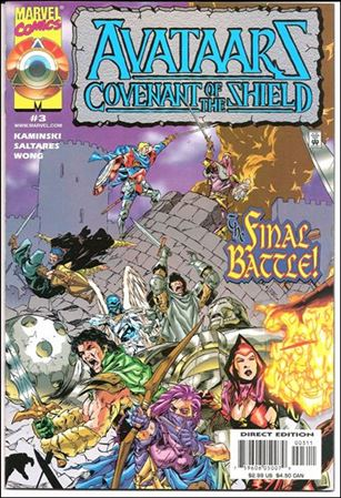 Avataars: Covenant of the Shield 3-A