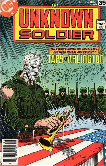 Unknown Soldier (1977)  216-A by DC