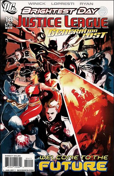Justice League: Generation Lost 14-A by DC
