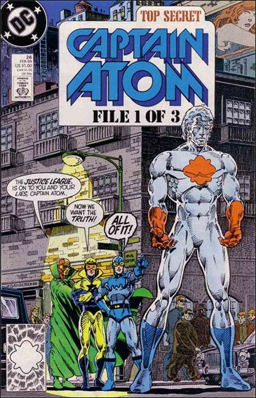 Captain Atom (1987) 26-A by DC