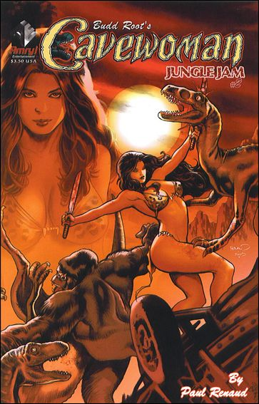 Cavewoman: Jungle Jam 2-A by Amryl