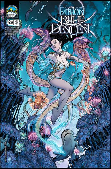 Michael Turner's Fathom: Blue Descent 3-B by Aspen